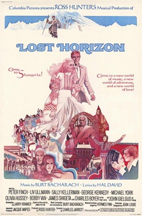 Framed Lost Horizon Ross HUnter Print