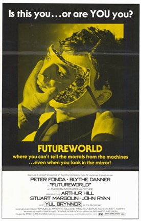 Framed Futureworld Movie Print