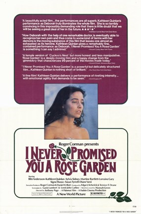 Framed I Never Promised You a Rose Garden Print