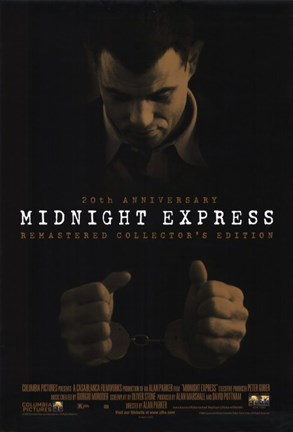 Framed Midnight Express Print