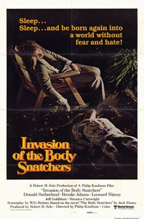 Framed Invasion of the Body Snatchers Sleep... Print