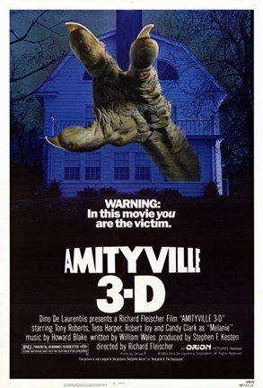 Framed Amityville 3: The Demon Print