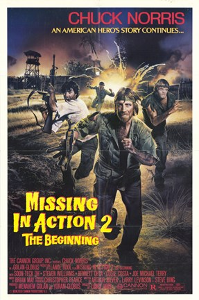 Framed Missing in Action 2: The Beginning Print