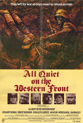 Framed All Quiet On the Western Front Print