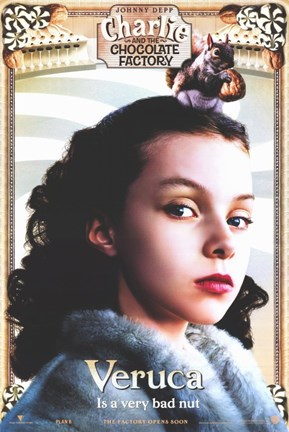 Charlie and the Chocolate Factory Veruca