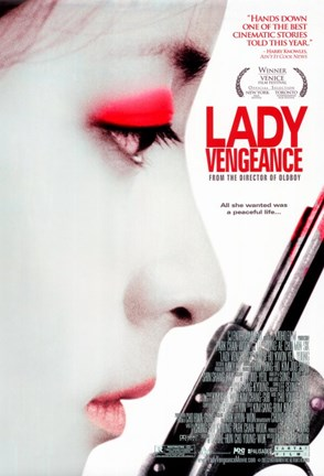 Framed Sympathy for Lady Vengeance - all she wanted was a peaceful life Print