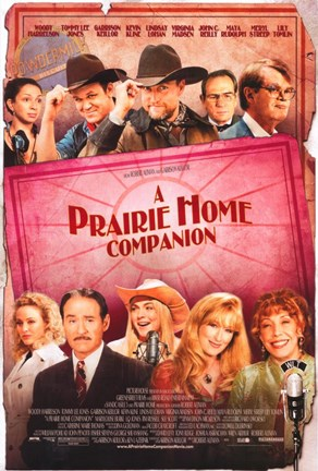 Framed Prairie Home Companion - characters Print