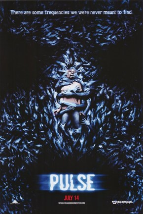 Framed Pulse Film Poster Print