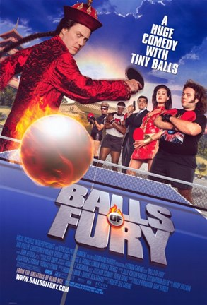 Framed Balls of Fury - A huge comedy with tiny balls Print