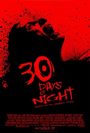 Framed 30 Days of Night - Based on the Graphic Novel Print