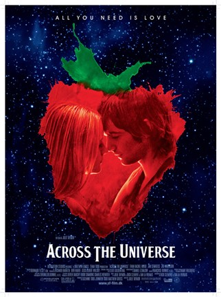 Framed Across the Universe Print
