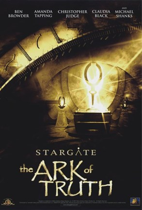 Framed Stargate: The Ark of Truth Print