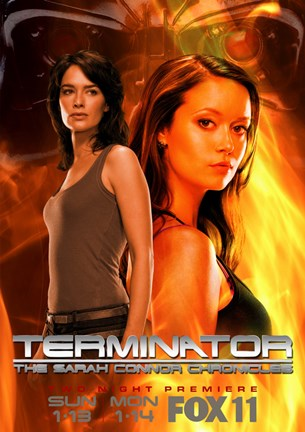 Framed Terminator: The Sarah Connor Chronicles - style L Print