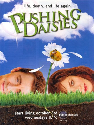 Framed Pushing Daisies Life. Death. And Life Again Print