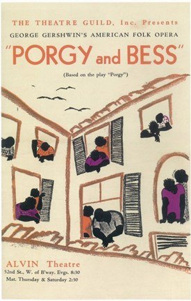 Framed Porgy And Bess (Broadway) Print