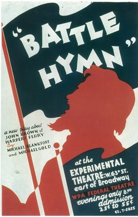 Framed Battle Hymn (Broadway) Print