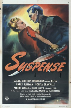 Framed Suspense Print