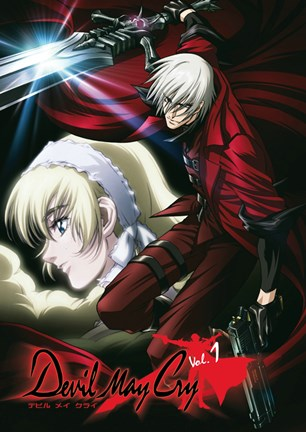 Framed Devil May Cry - with sword Print