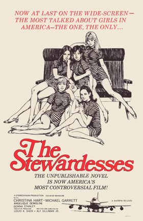 Framed Stewardesses Print