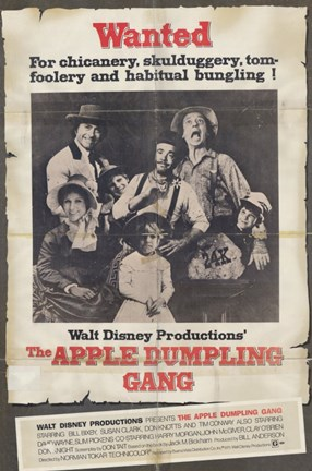 Framed Apple Dumpling Gang Print