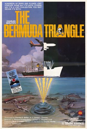 Framed Bermuda Triangle Print