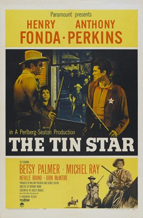 Framed Tin Star (movie poster) Print