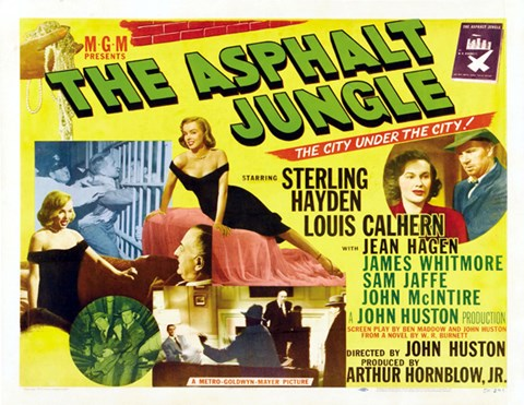 Framed Asphalt Jungle Print