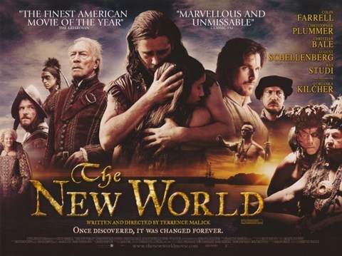 Framed New World Colin Farrell Print