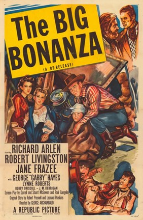 Framed Big Bonanza Print