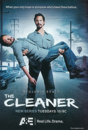 Framed (TV) Cleaner Benjamin Bratt Print