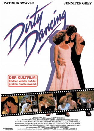 Framed Dirty Dancing Print