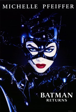 Framed Batman Returns Catwoman Print