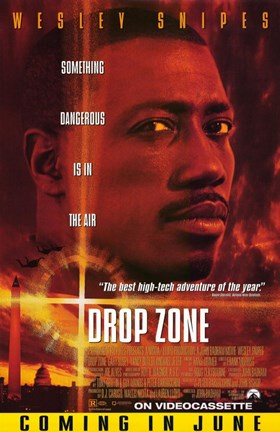 Framed Drop Zone Print