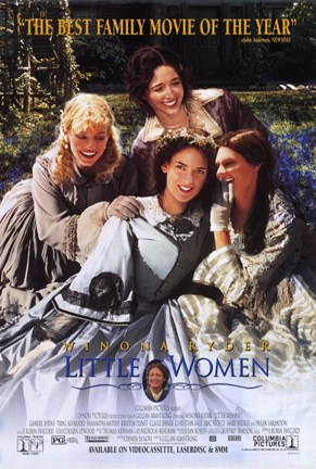 Framed Little Women - best family movie of the year Print