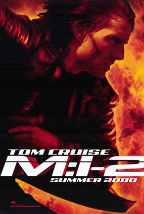 Framed Mission: Impossible 2 Tom Cruise Print