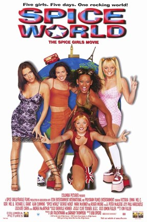 Framed Spice World: The Movie Print