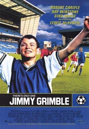 Framed There's Only One Jimmy Grimble Print