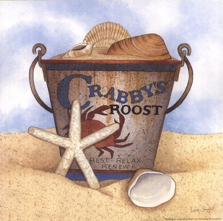 Framed Crabby's Roost Print