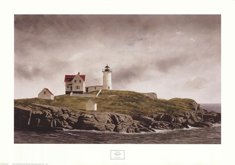 Framed Nubble Light Print