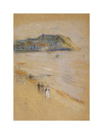 Framed On The Beach, Hastings Print