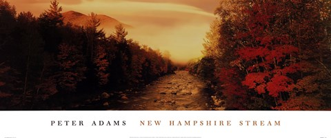 Framed New Hampshire Stream Print