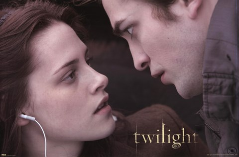 Framed Twilight - Edward and Bella 2 Print
