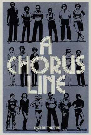 Framed Chorus Line (Broadway) - Posed Print