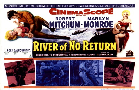 Framed River of No Return, c.1954 - style A Print