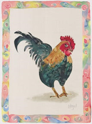 Framed Fowl Play Print