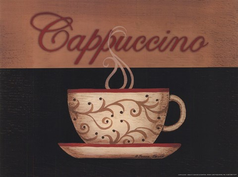 Framed Cappuccino Print