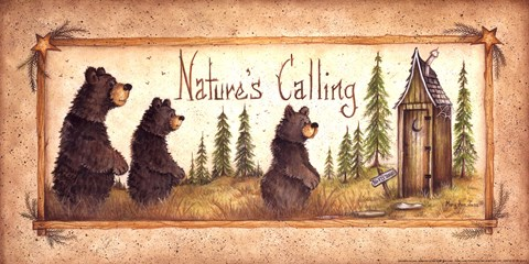 Nature S Calling Fine Art Print By Mary Ann June At