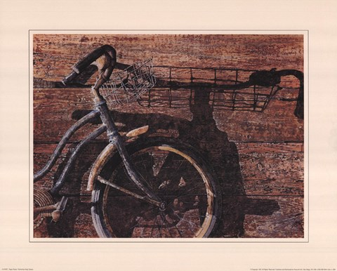Framed Paper Route Print