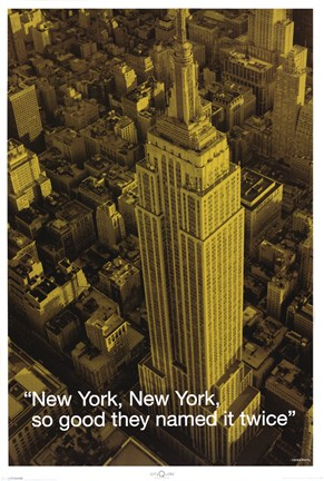 Framed New York (City.Quote) Print