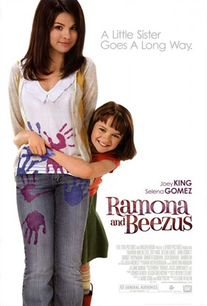 Framed Ramona and Beezus - style A Print